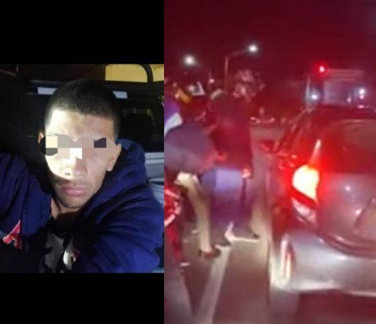 se logró conocer que el detenido de nombre Luis Antonio de 22 años de edad, cuenta con un ingreso al CERESO
