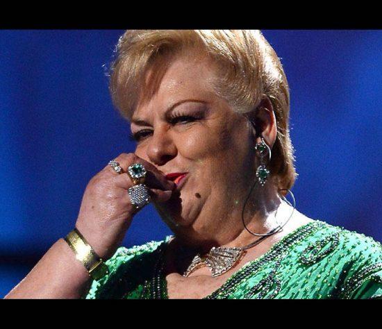 La cantante Paquita la del Barrio dejó este miércoles el hospital