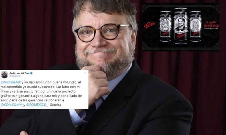 El cineasta llegó con a un acuerdo con la cervecería Victoria.