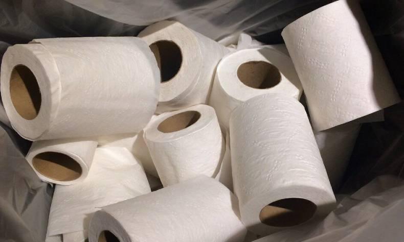 El reto de conseguir papel de baño