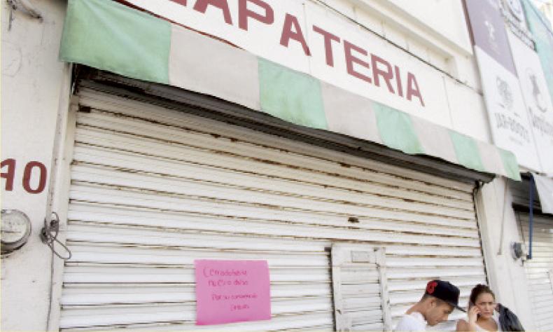 Comerciantes han tomado las medidas necesarias para frenar la propagación del coronavirus.