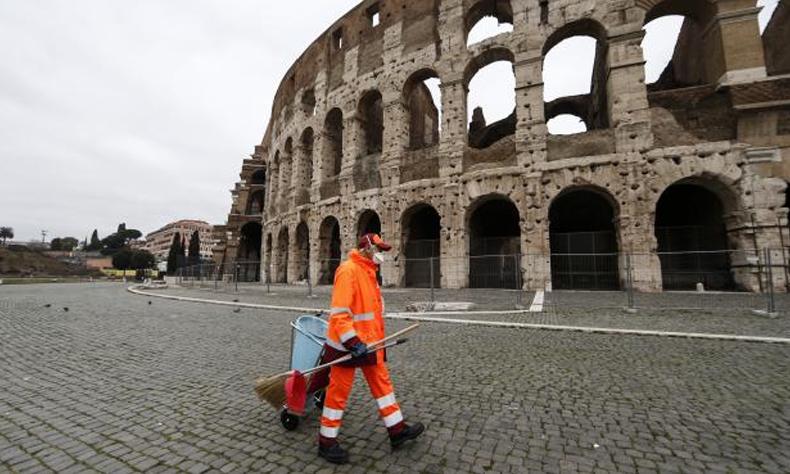 Se volvió a romper la tendencia a la baja de personas fallecidas en Italia debido al COVID-19.