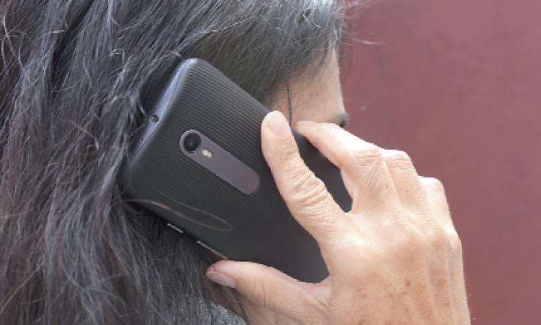 Hasta 20 llamadas semanales reciben por gente preocupada por el coronavirus.