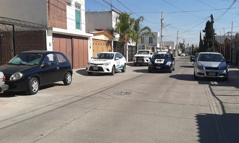La policía invita a toda la población de Aguascalientes a mantenerse en sus casas.