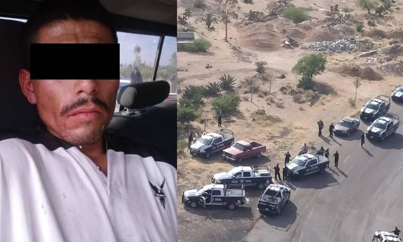 Este sujeto, ubicado como blanco Prioritario por robo en distintas modalidades, principalmente robo de vehículos, fue detenido y puesto a disposición de la Fiscalía General del Estado.