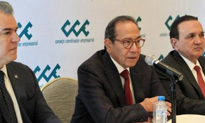 Carlos Salazar Lomelín, presidente del CCE.