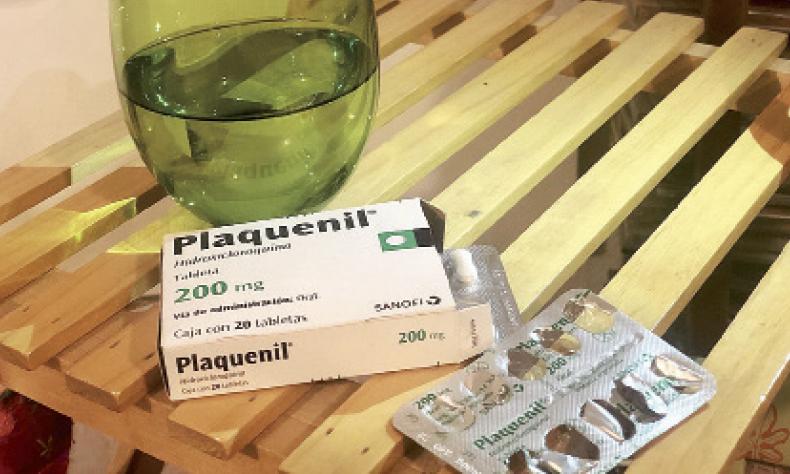 Medicina para el tratamiento de lupus.