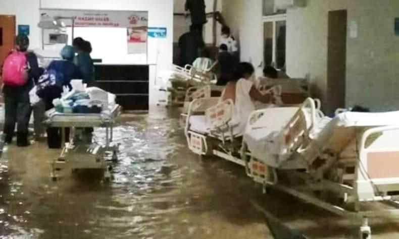 Las inundaciones estuvieron bien gachas