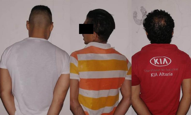 Los detuvieron por ir manejando y hablando por teléfono y les encontraron droga.