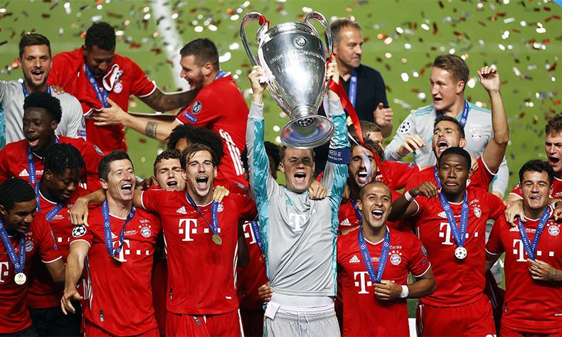 El fútbol, un deporte donde se juegan 11 contra 11 y al final siempre ganan los alemanes.