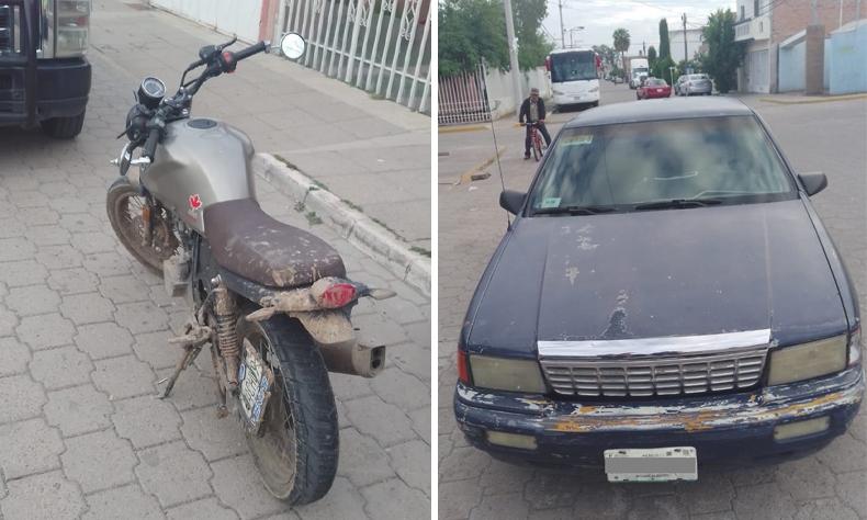 El motociclista resultó seriamente lesionado.