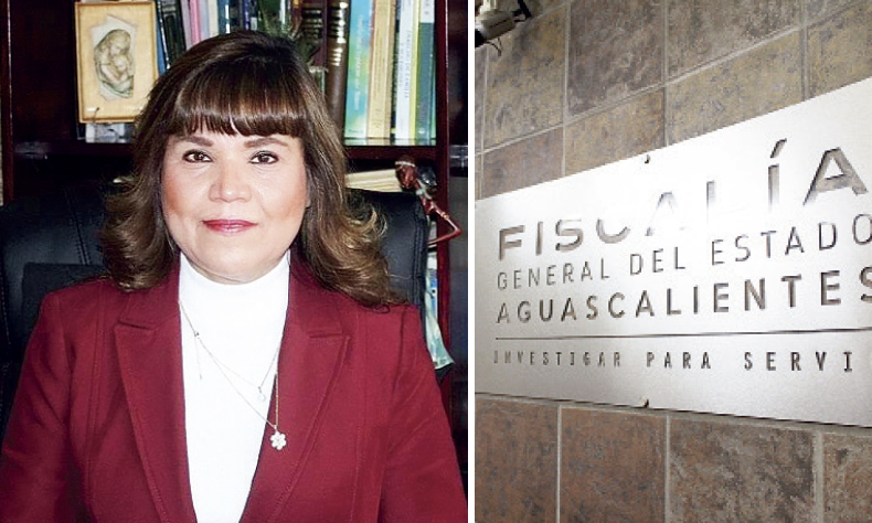 La magistrada-presidenta del Supremo de Aguascalientes está acusada por un presunto secuestro.
