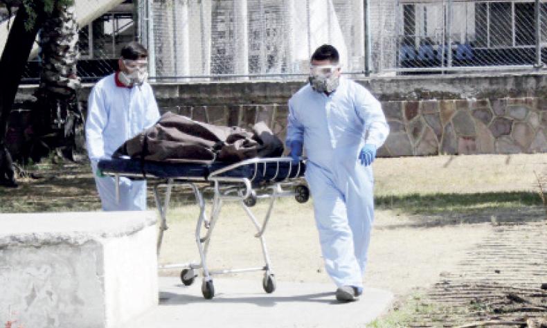 Durante la semana pasada más de 60 personas perdieron la vida a causa del COVID.