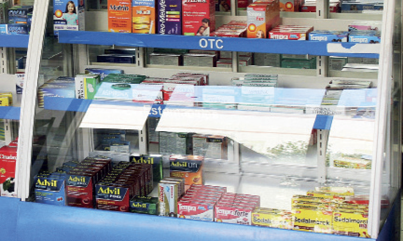 El temor al coronavirus hizo que la raza se volcara a comprar un resto de antigripales.