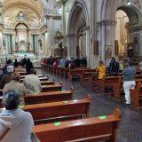 Iglesia Católica hace un llamado de atención a la gente por la pandemia.