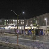 Hospital Hidalgo de noche.