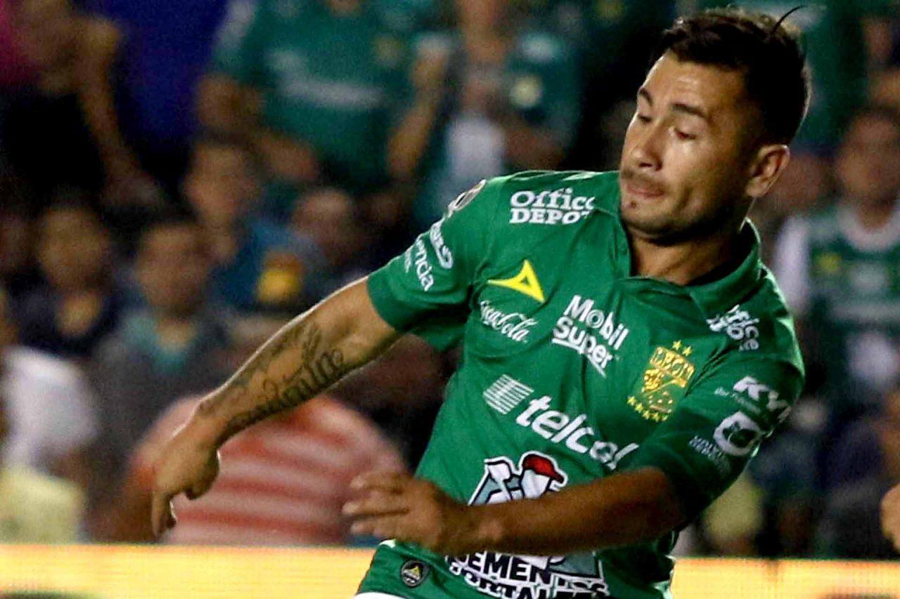 El futbolista del León, Jean Meneses