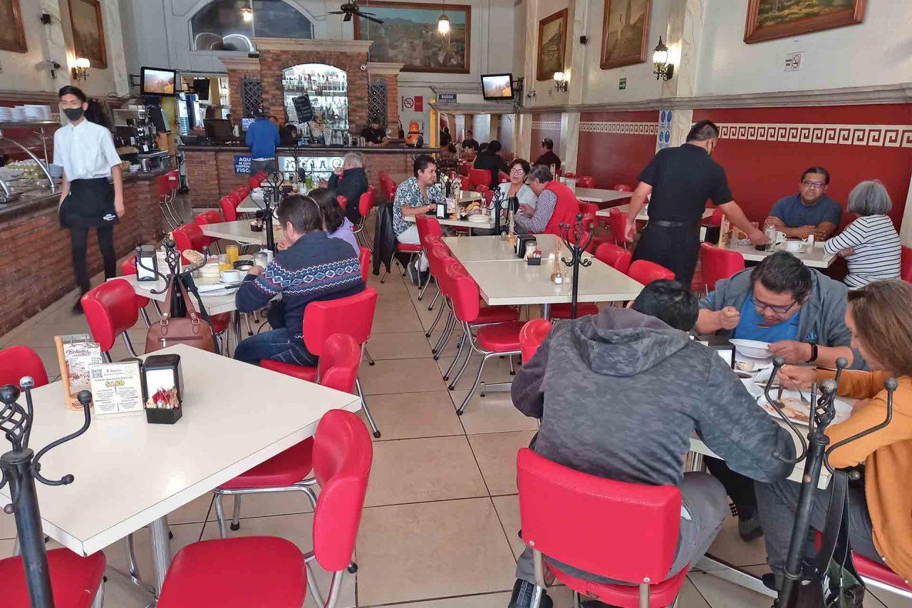 Restaurante, Comensales.