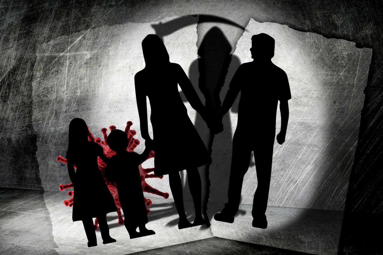 Familia muere de Covid-19 porque la madre ocultó tener la enfermedad