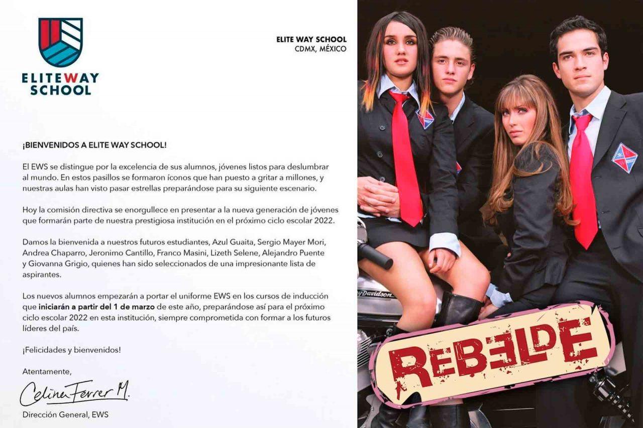 Anuncian remake de Rebelde.