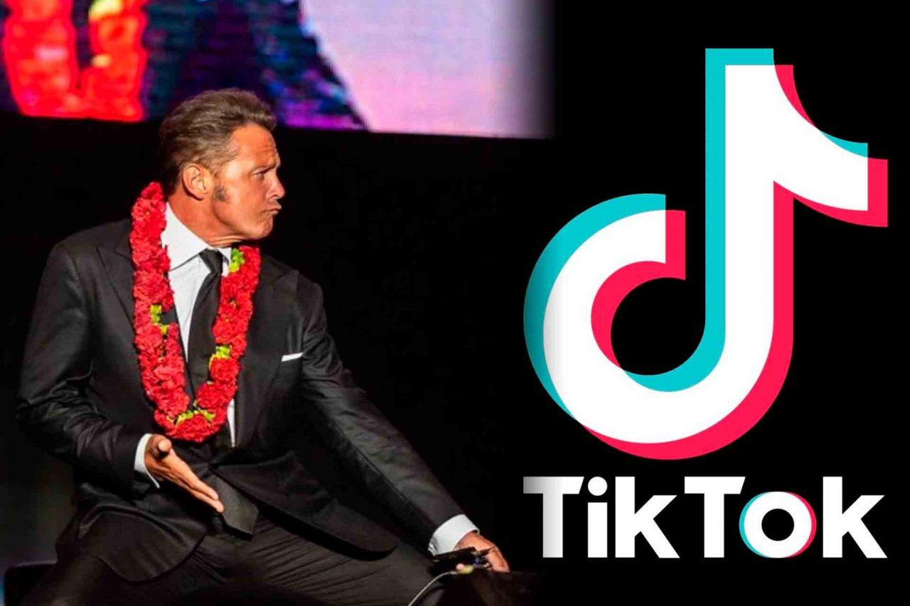 Luis Miguel abre cuenta de TikTok.