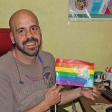Manuel Gutiérrez Flores, vicecoordinador del Colectivo SerGay