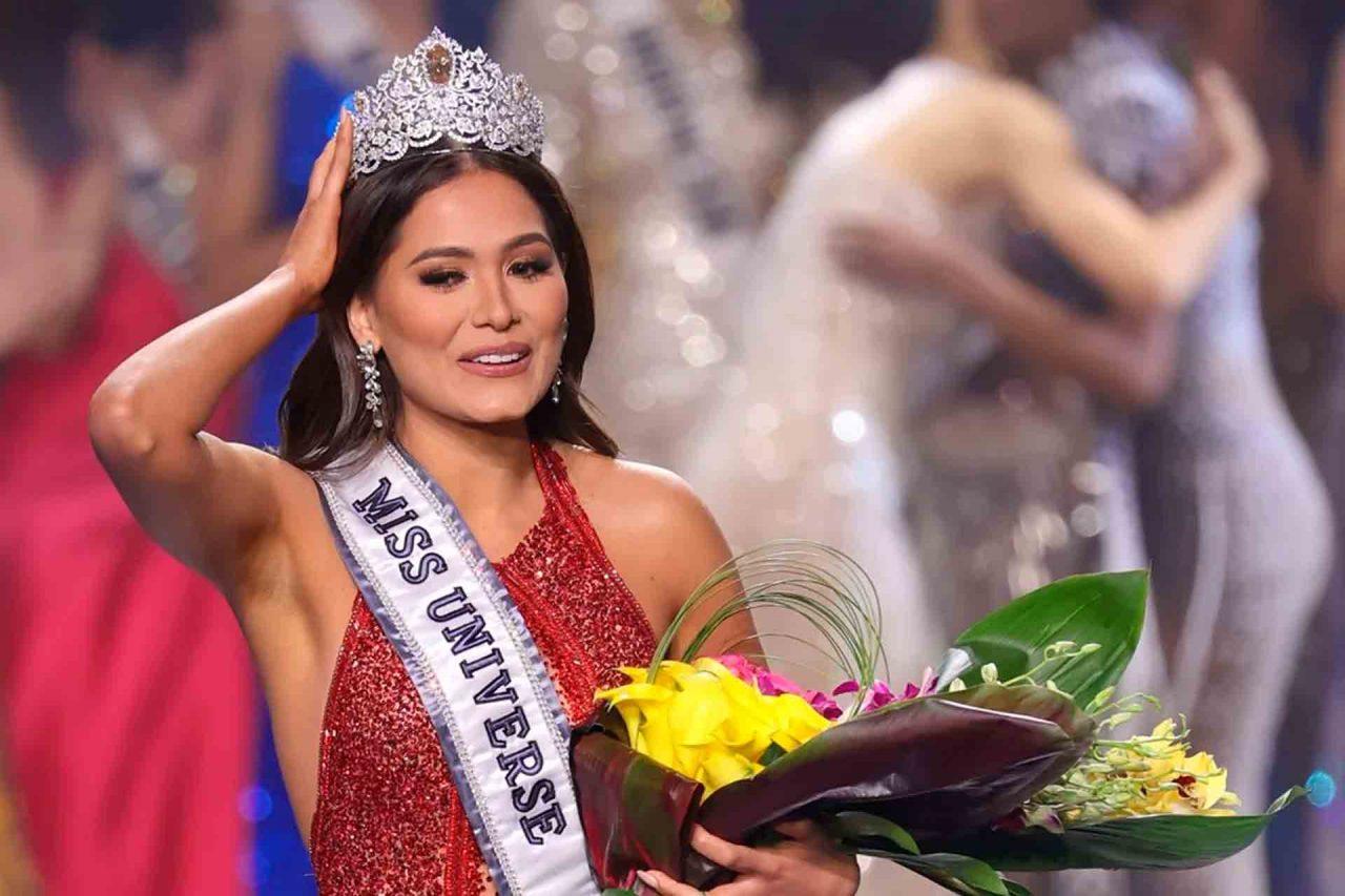 Andrea Meza, ganadora de Miss Universo 2021.