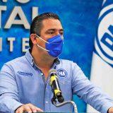 El dirigente estatal del PAN, Gustavo Báez Leos.
