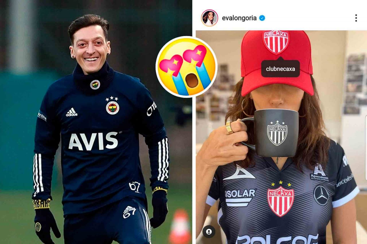 Mezut Özil, Eva Longoria.