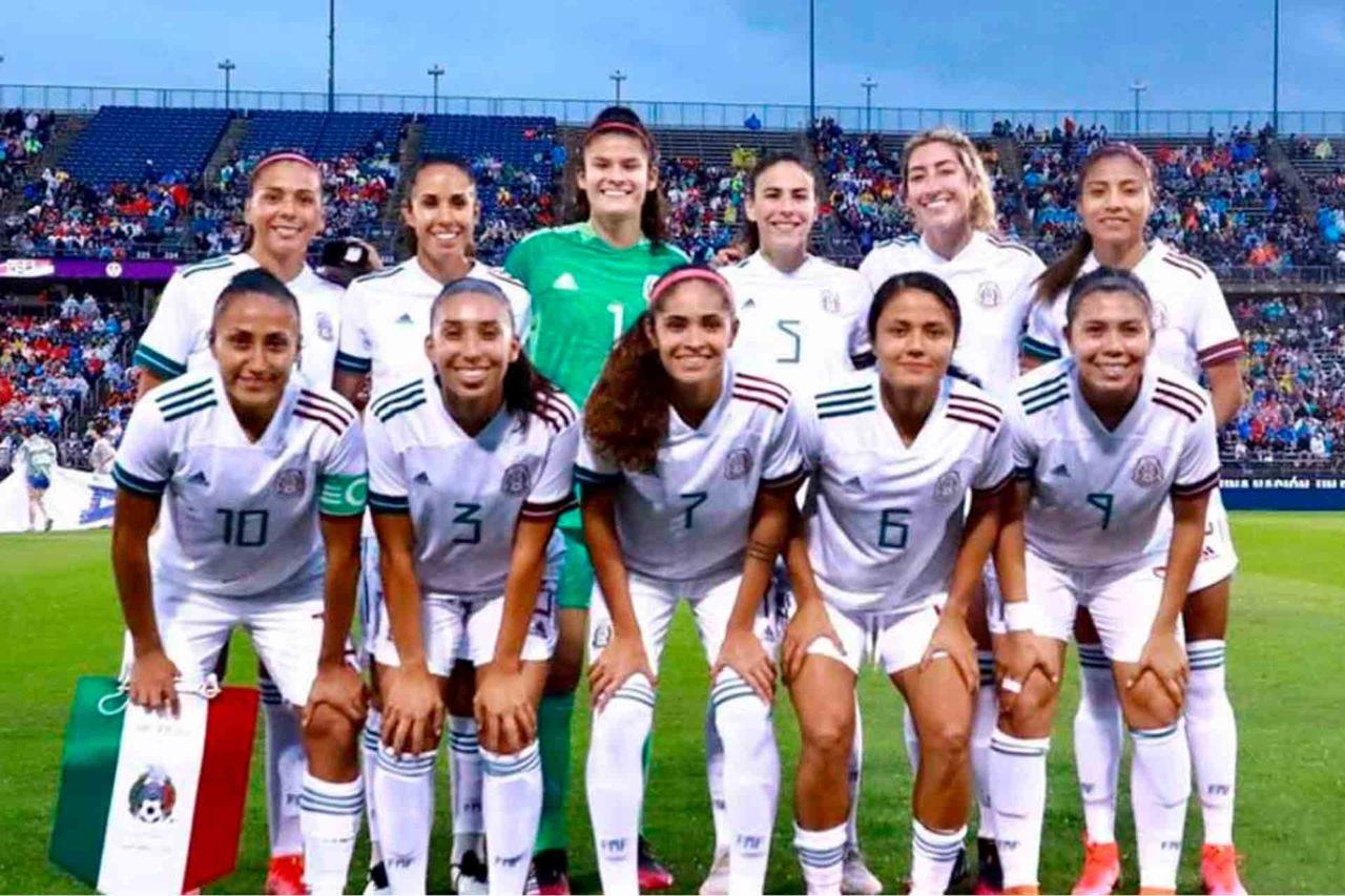 Selección Femenil de México.