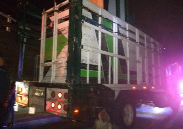 Asaltantes robaron violencia camión